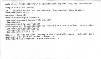 Flugblatt Jörg Schneider